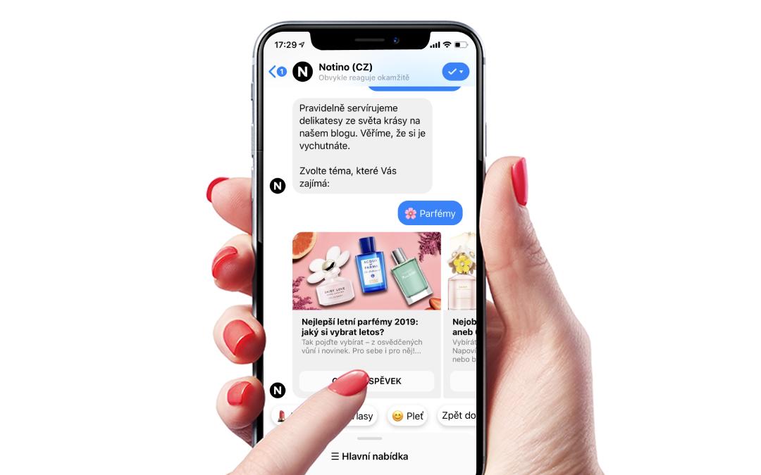 O chatbotovi, jeho výhodách a využití v marketingu
